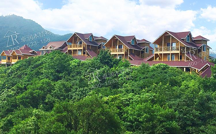 广西玉林大容山森林公园木屋酒店