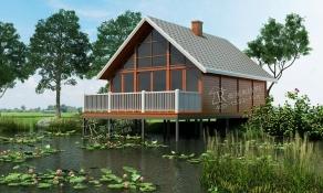 为什么说别墅木屋的材料源于自然呢