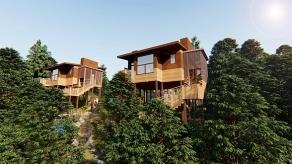说说防腐木木屋采用的材料是什么,起到什么作用?