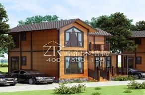 结合美丽与力量,定制重型木结构木屋