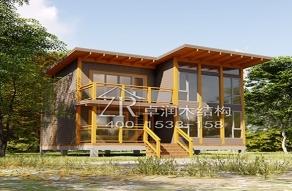 木结构建筑已成为园林景观不可或缺的一部分