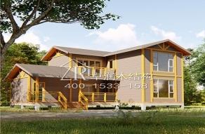 常见的木结构房屋可以分为两种