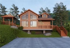 为什么旅游景区越来越多偏向搭建木屋呢?