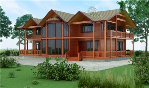 如果,我有一栋木屋别墅,我要......