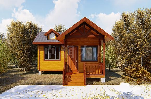 防腐小木屋