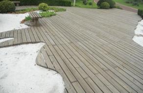 生态户外木地板定制