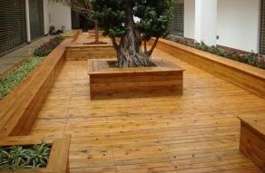 户外木地板