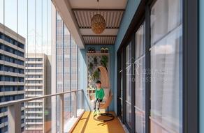 生态木阳台