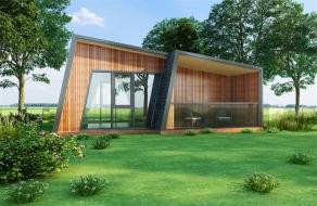 现代套房木屋