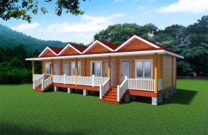 四房联排度假木屋