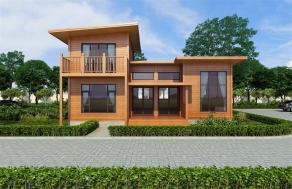 广东木结构别墅
