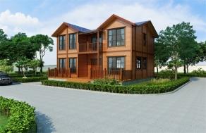 四房两厅木屋