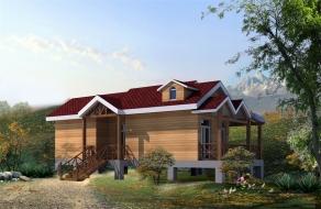 木屋别墅庭院设计
