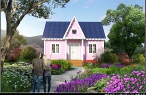 一房一厅婚庆木屋
