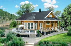 三房一厅木屋