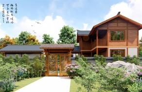 中式木屋设计